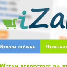 Strona internetowa izakupy.net
